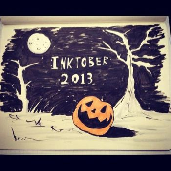 Inktober 31 - Halloween Pumpkin by Yeti-Labs