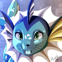 Ranth The Spotted Vaporeon by RafaelGH