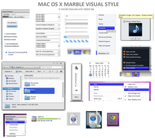 Mac OS X Marble Visual Style For Windows 7 by mrmyasdf