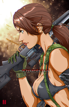 Quiet: Metal Gear Solid V by artofJEPROX