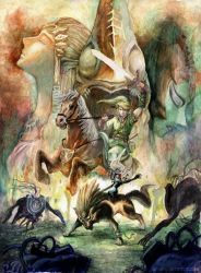 The Legend of Zelda by kowan