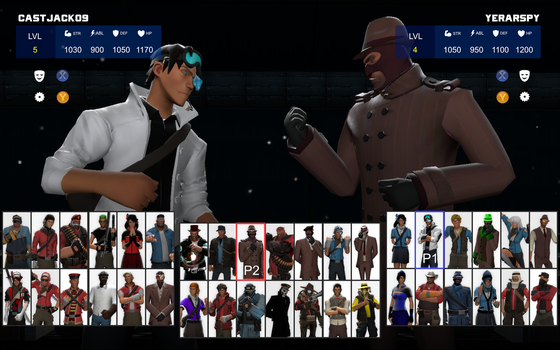 InFortress 2: Character select by AgentVigilante