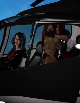Scarlett Kidnapped by Cobra: Flying The Coup by DestroXXIV