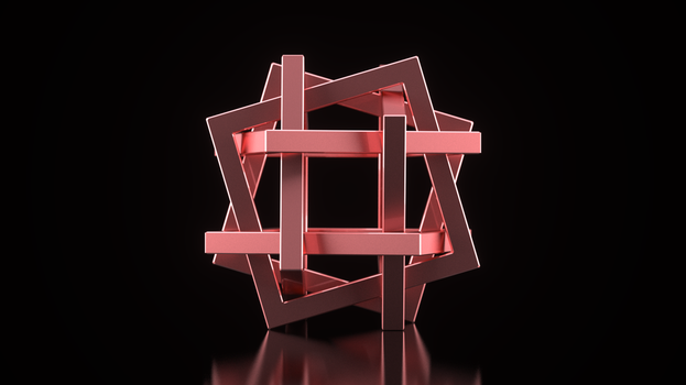 Orderly Tangled Cube by usere35