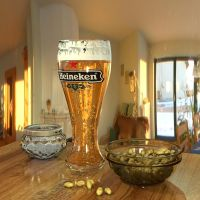 Heineken Beer by Ozzik-3d
