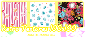 Retro Textures: 100x100 by Keoni-chan