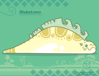 Hiraeth Creature #889 - Shukatomo by Cosmopoliturtle