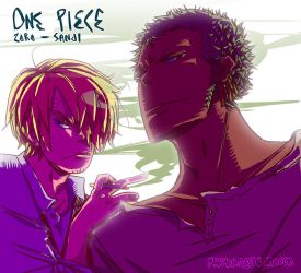 zoro n sanji by makiyan