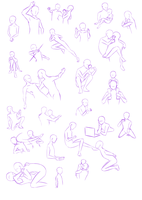 Poses practice by groceryshipping