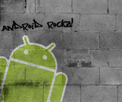 Android Graffiti HTC Desire by odamiean