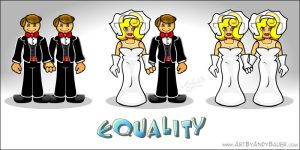 Equality by Art-by-Andy