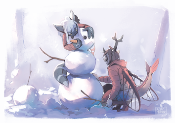 [WI] Do You Want to Build a Snowman ? by RubyFeather