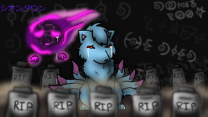 Lavender Town... by WingedWarrior13