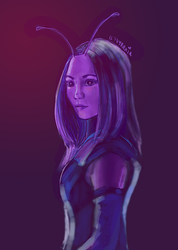 Avengers // Mantis // In Shades of Purple by vyrenia