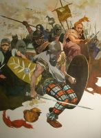 Celtic Warriors by VincentPompetti