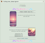 |CODING| Sunset Themed by Volatile--Designs