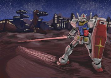 Rx-78-2 'Gundam' by rithgroove