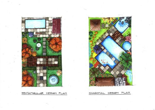 Marker Rendering (Garden Plan) by ray-agustin