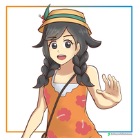 Pokemon Ultra Sun/Moon Heroine by ipokegear