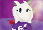 Toriel- Be good, my child... by FluttershyAdorable