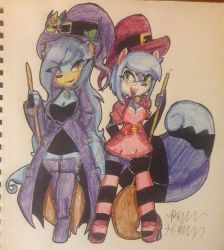 Witchy Sisters by Mongoosegoddess