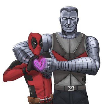 Image result for deadpool colossus