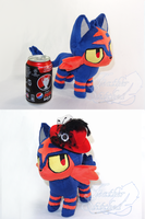 Litten Fashion (also size reference) by FeatherStitched
