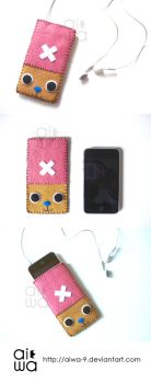 Chopper iPhone case by aiwa-9