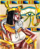 Nubian Queen by ScarlettRoyale