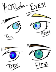 KOTLC Eyes by GreatWolfAlpha