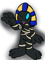 Side 3DS Doodles #005 - Shadow Tac by JBtheShadow