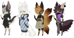 Kitsune Adopts CLOSED by Valiuum