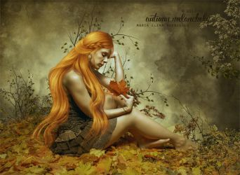 Autumn melancholy by CobaltOfMarch