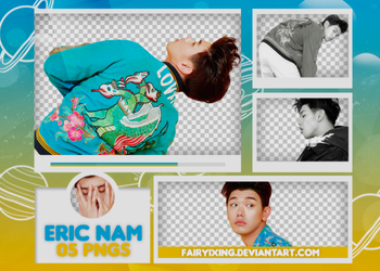 [PNG PACK #688] Eric Nam - (Marie Claire) by fairyixing