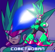 MMU New Comer - CometWoman by MegaPhilX