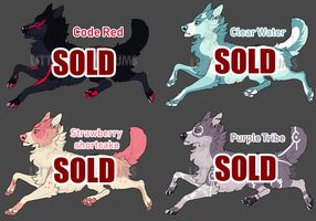 Canine Adopt Batch Auction 2 [CLOSED] by LittleConundrums