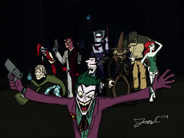 The Gallery of Rogues by JonCausith