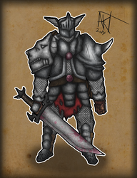 Norse Knight - Redux by Andermatron
