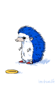 Sonic the Hedgehog by bensigas