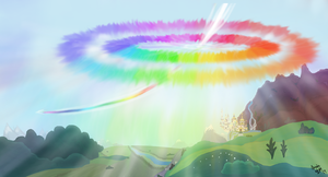 The Sonic Rainboom by MachStyle