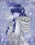 Snow elf Hinata by Enock