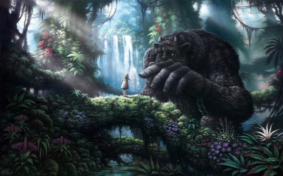 Girl and the Beast by Guybrush4EVER