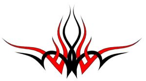 Black and Red Tribal by jonixc