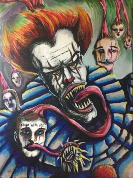 Pennywise The Clown by Cifercrossing