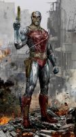 Deathlok The Demolisher by uncannyknack