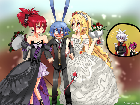 Commision: Princes can marry with 2 by Shuga-Chu