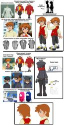 Sanic Bewm redesign sources and references by the-Gitz