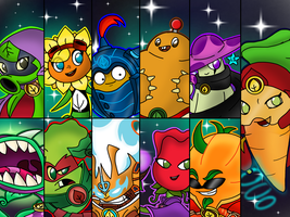 Plants vs Zombies Heroes Battle cut by LightStar345