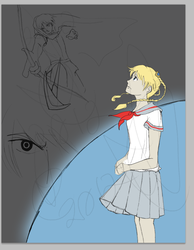 [SECRET PROJECT] In-Progress Cover by IceCoffin