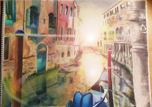 Colors of Venice by EmoHoodieDude
